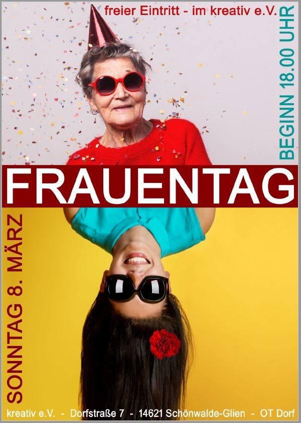 Frauentag 2020  im kreativ e.V. in Schönwalde